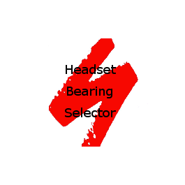 Specialized Bikes Replacement Headset Bearings Edge