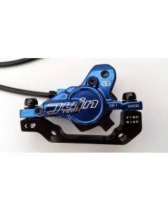 Juin Tech DB1 Hydraulic Disc Brake Set - Blue - F&R 160mm