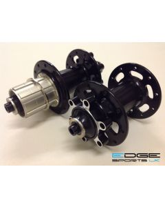 Edge Design Cyclocross Disc Hubs - Front & Rear - 20/24h - 11Speed