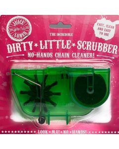 The Dirty Little Scrubber   No Hands Chain Cleaning Tool