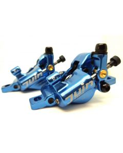 Juin Tech R1 Hydraulic Cable Pull Disc Brake Set - Cyclocross