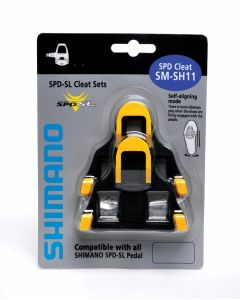 Shimano SPD SL-cleat Set | Centre Pivot Floating | Yellow