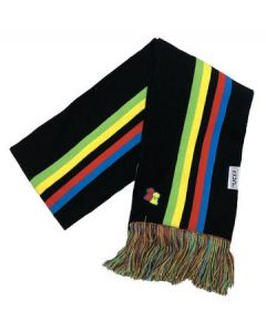 Big Bobble Hats |  UCI Black Rainbow Scarf