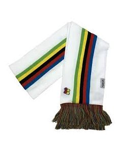 Big Bobble Hats |  UCI White Rainbow Scarf