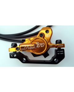 Juin Tech DB1 Hydraulic Disc Brake Set - Gold - F&R 160mm