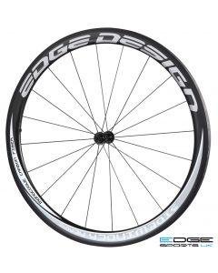 Edge Design Sidewinder Aero 45 | Carbon Tubular Wheelset | Front
