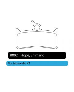 R002 - Hope, Shimano | RWD Disc Brake Pads