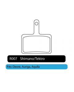 R007 - Shimano/Tektro | RWD Disc Brake Pads