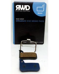RWD R044-Organic Disc Brake Pads   SRAM HRD Red, Force, Rival, Apex