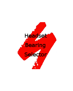 Specialized bikes replacement headset bearings