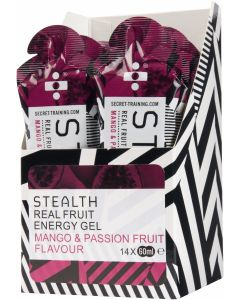 STEALTH REAL FRUIT ENERGY GEL | MANGO & PASSION FRUIT | 60ml