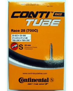 Continental Race 28 Inner Tube 700c - Presta Valve 42mm