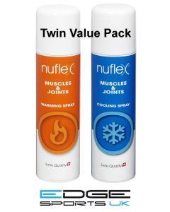 Nuflex Warming & Cooling Spray Twin Value Pack