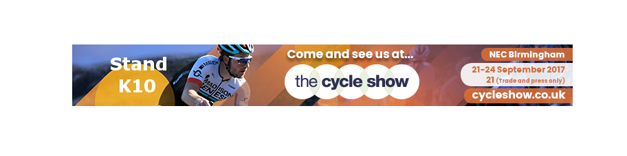 The Cycle Show 2017, NEC, Stand K10